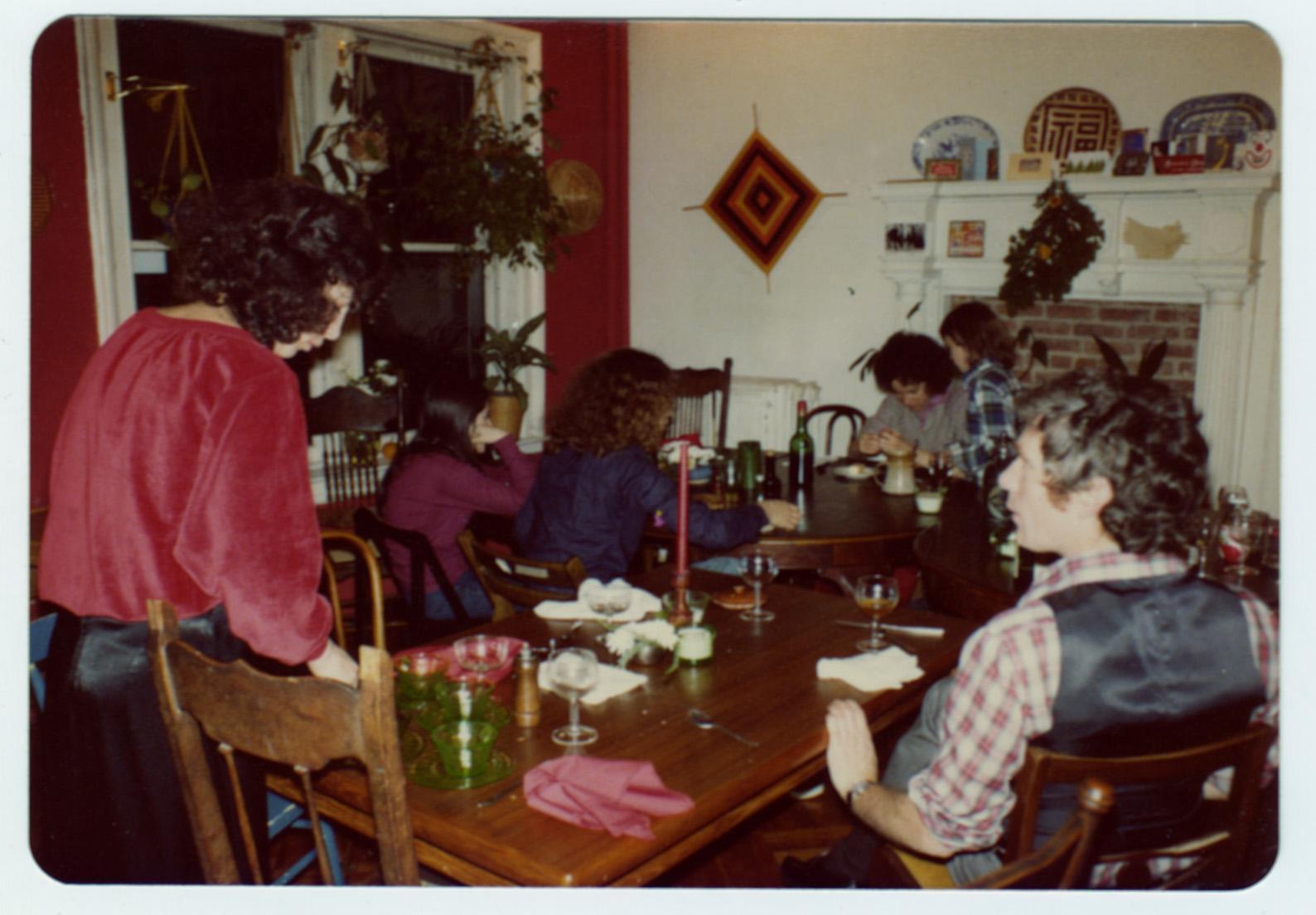 Christmas and Hanukkah dinner.